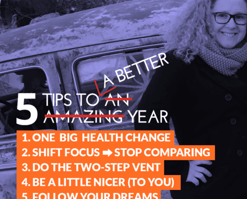 Andrea Guevara 5 tips to better year for people going through it