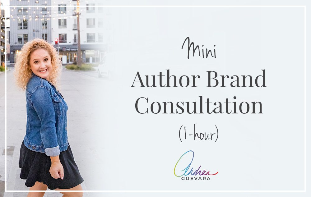 Book an author branding consult with Andrea