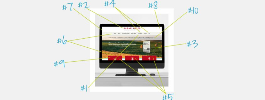 10 must have features for author website